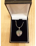 crystal Stone Heart Necklace