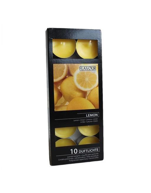 Citron Doftsatta Värmeljus
