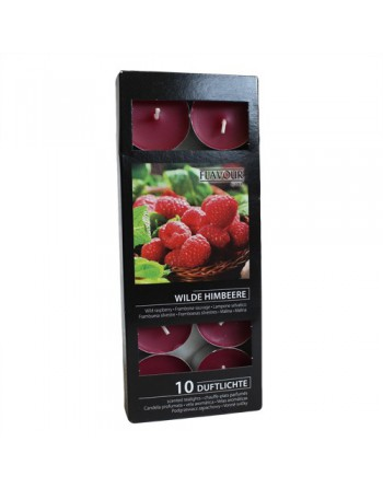 Wild Raspberry Scented Nightlights