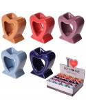 Heart shaped Oil Burner