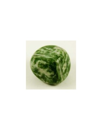 Green Spotted Jade Gemstone