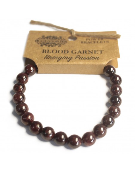 Blood Garnet Power Bracelet