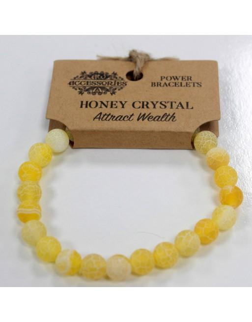Honungskristall Armband