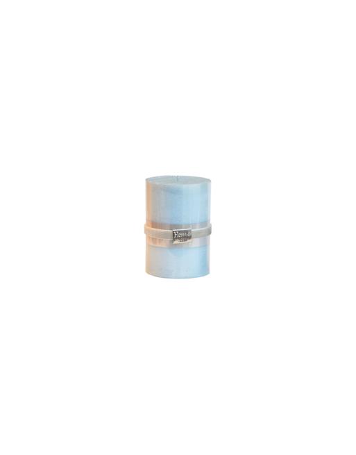 Finnmari Metallblockljus 7x10cm Ljusblå