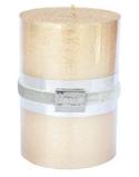 Finnmari Metallblockljus 7x10cm Guld