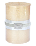 Finnmari Metallic Pillar Candle 7x10cm Gold