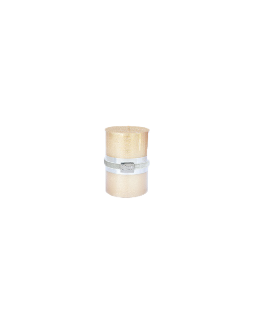 Finnmari Metallic Pillar Candle 7x10cm Gold