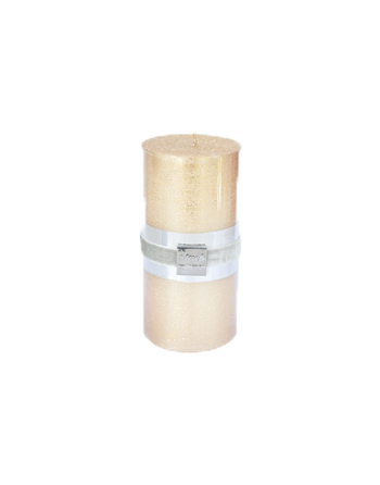 Finnmari Metallic Pillar Candle 7x15cm Gold