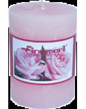 Finnmari Rose Scented Pillar Candle