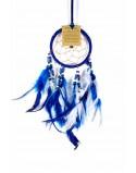 Dream Catcher Bone Beads Blue