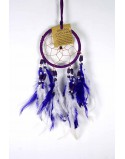 Dream Catcher Bone Beads Purple