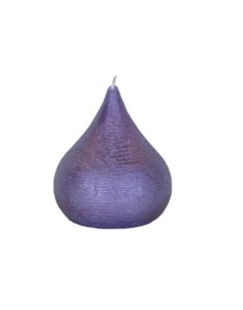 Finnmari Violet Drop Shaped Candle