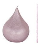 Finnmari Violet Drop Shaped Candle