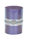 Finnmari Metallic Pillar Candle 7x10cm Violet