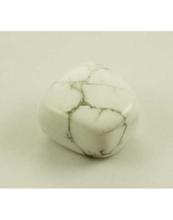 White Howlite Tumblestone