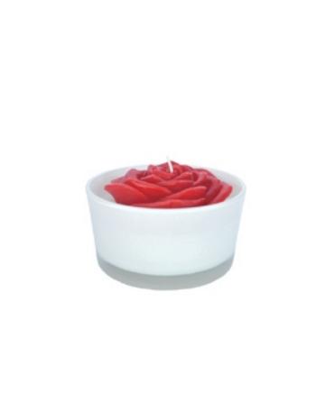 Finnmari Rose flower Candle