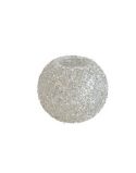 Finnmari Gray Glitter Candle Holder