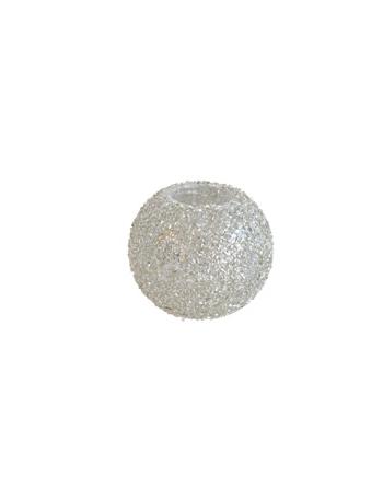 Finnmari Grå Glitter Värmeljushållare
