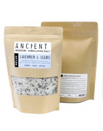 Natural Lavender Himalayan Bath Salt