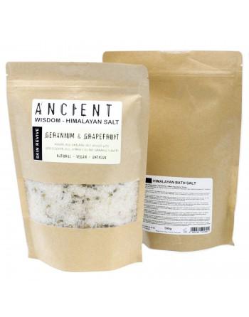 Natural Geranium & Grapefruit Himalayan Bath Salt