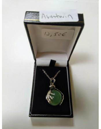 Green Aventurine Hand Necklace