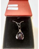 Amethyst Hand Necklace