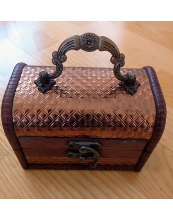 Wooden Box Bronze