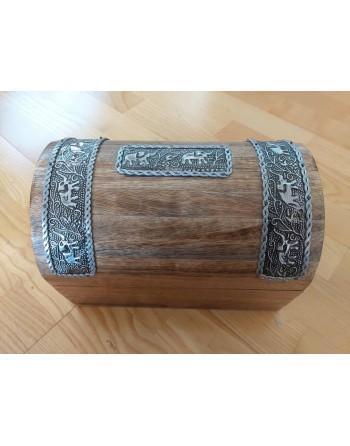 Elephant Wooden Box